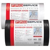 Пакет для мусора PRO service черная HD (ХД) 20 л / 100 шт. (25 шт. / ящ.)