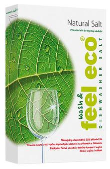 Соль натуральная для посудомоечной машины FEEL ECO коробка (1 кг)