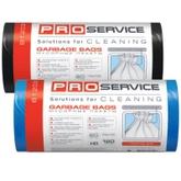 Пакет для мусора PRO service полиэтилен 70*110 черный HD (ХД) 120 л / 20 шт. (30 шт. / ящ.)