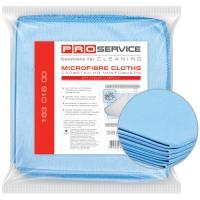 Салфетки PRO service из микрофибры для стекла 5 шт (28шт/ящ)