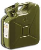 Канистра для бензина металлическая Gelg (Польша) 5 л