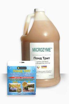 Биопрепарат ТМ Микрозим ПОНД ТРИТ жидкий концентрат (3,785л)
