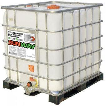 Теплоноситель (антифриз) для систем отопления SUNWAY 20 еврокуб (1000л)