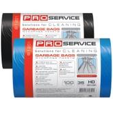 Пакет для мусора PRO service полиэтилен 45*50 черный HD (ХД) 35 л / 50 шт. (50 шт. / ящ.)