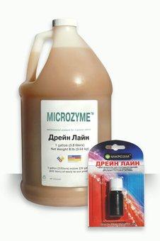 Биопрепарат ТМ Микрозим ДРЕЙН ЛАЙН жидкий концентрат (10мл)
