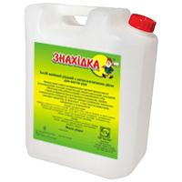 Средство моющее концентрированное для мытья стекла ЗНАХІДКА, жидкое (5кг)