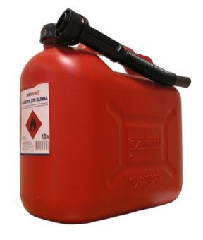 Канистра для бензина пластиковая Autoexpert (Польша) 10 л